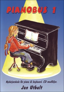 Pianobus 1 med cd i gruppen Piano/Keyboard / Pianoskolor hos musikskolan.se (774005)