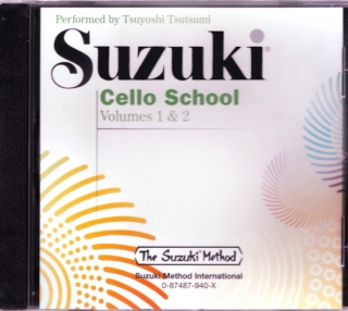 Suzuki cello CD 1 & 2 i gruppen Noter & böcker / Cello / Spelskolor hos musikskolan.se (9780874879407)