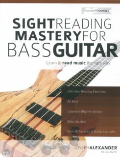 Sight Reading Mastery for Bass i gruppen Noter & böcker / Elbas / Spelskolor hos musikskolan.se (9781910403174)