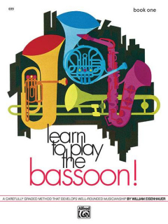 Learn to Play the Bassoon! Book 1 i gruppen Noter & böcker / Fagott / Spelskolor, etyder och övningar hos musikskolan.se (ALF00699)