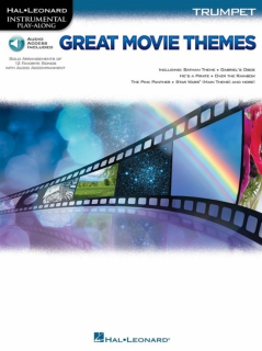 Great Movie Themes - Trumpet i gruppen Noter & böcker / Trumpet / Notsamlingar hos musikskolan.se (HL00139147)