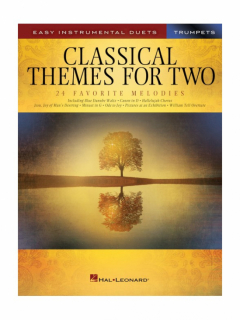 Classical Themes For Two Trumpets i gruppen Noter & böcker / Trumpet / Klassiska noter hos musikskolan.se (HL00254442)