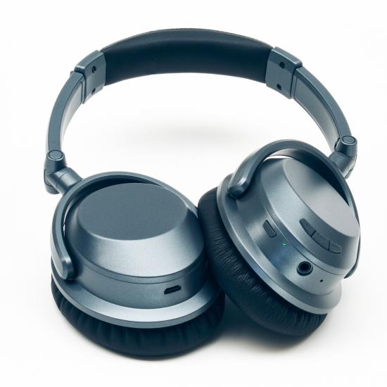 Hörlur Pulse HP4000BG Trådlös mörkgrå med aktiv brusreducering bd8ff452978f6