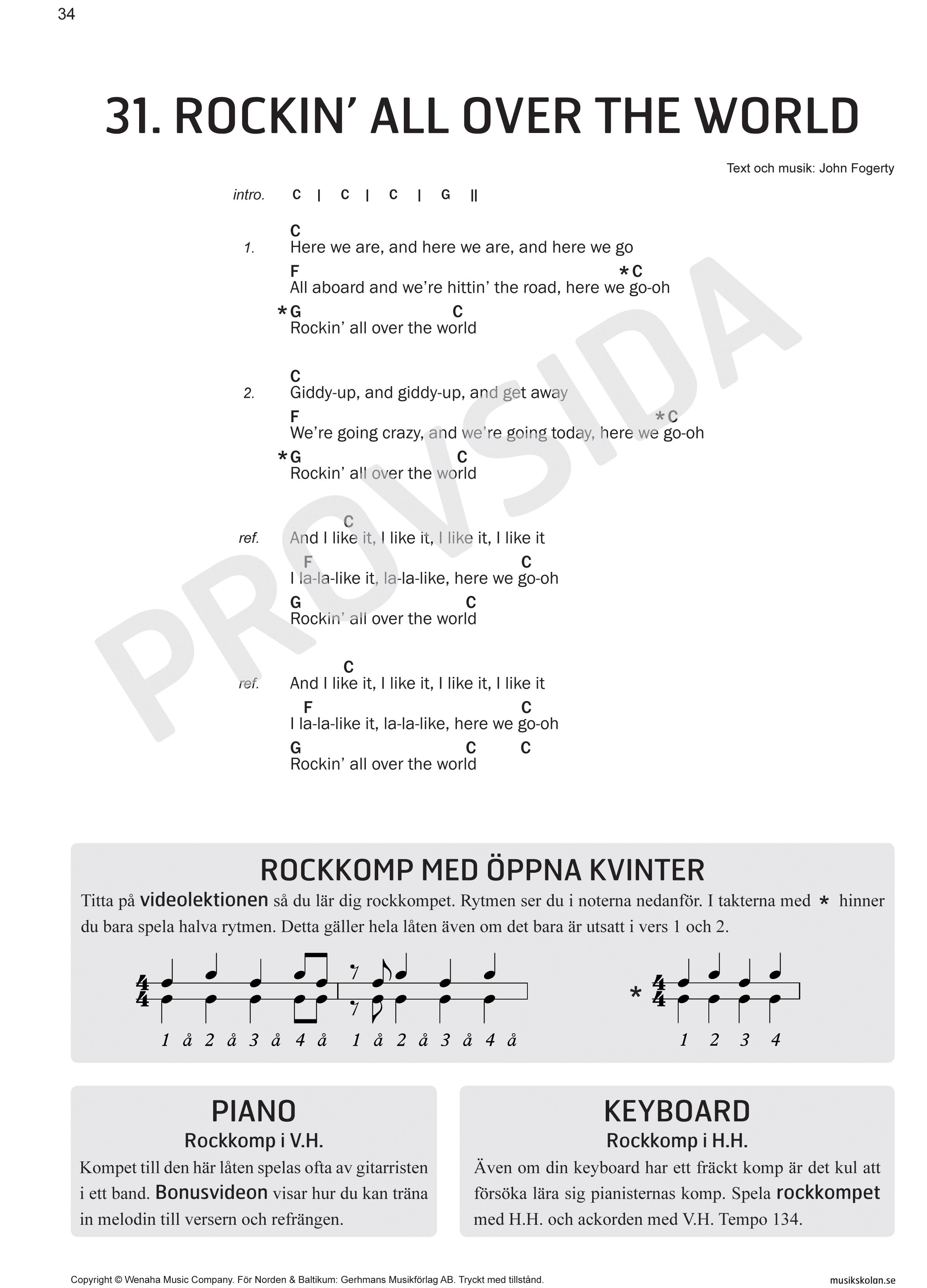 låtar att spela på gitarr